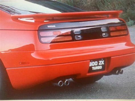 nissan 300zx spoiler sell new oem nissan 300zx spoiler 1994 1995 1996 rear wing