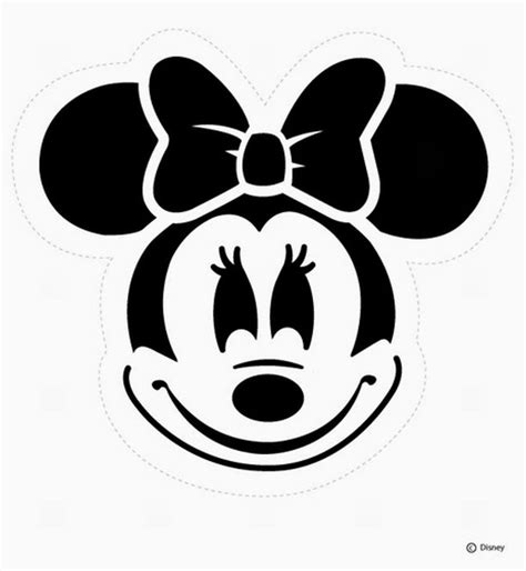 minnie mouse pumpkin template minnie mouse templates is it for is it