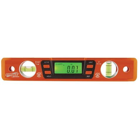 savage 9 in digital magnetic torpedo level svt200 the