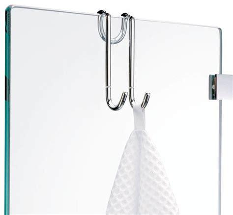 Hanging towel hook chrome contemporary robe amp towel hooks by modo bath