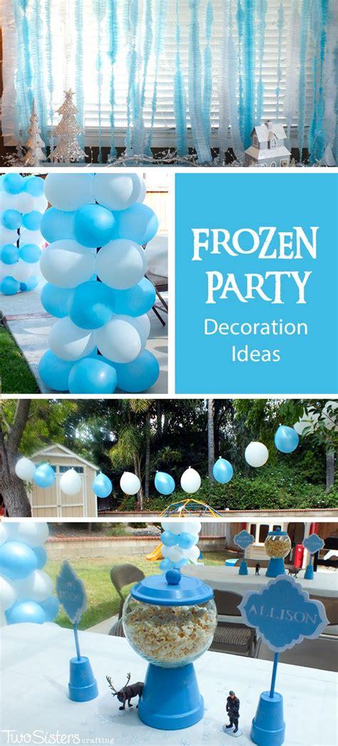 frozen decorations ideas  pinterest