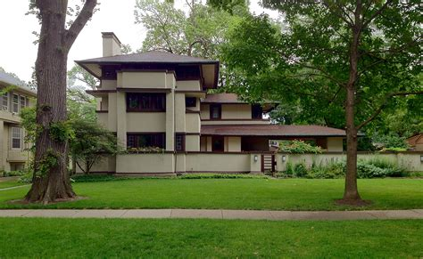 prairie house frank lloyd wright s oak park illinois designs the
