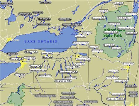 map of upstate new york new york map