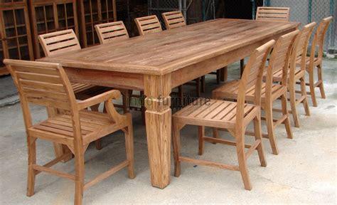 Meja Makan Biasa desain meja makan kayu model desain rumah terbaru