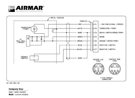 7 pin wiring diagram for a lowrance transducer 7 get