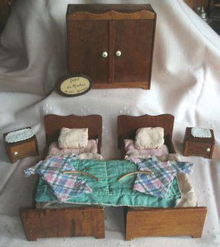 schlafzimmer 30er jahre antikspielzeug puppen zubeh 246 r puppenstubenzubeh 246 r