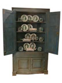 painted country corner cabinet for sale at 1stdibs