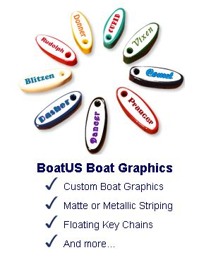 boatus name decals boatus boat graphics floating keychains and more
