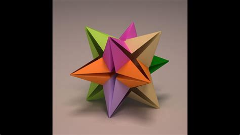 Origami 3d Anleitung by Origami Modular 3d Origami Tutorial