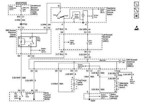2007 chevy silverado headlight wiring diagram 45 wiring