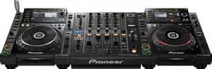 cd mixing decks pioneer djm 900 nexus mixer