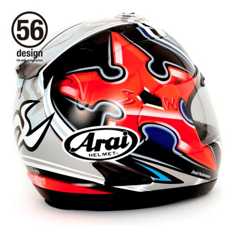 Helmet Arai Di Jepun helmetpenang arai rx 7rr5 nakano limited edition