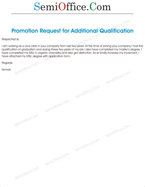 Promotion Letter Without Increment Salary Increment Archives Semioffice