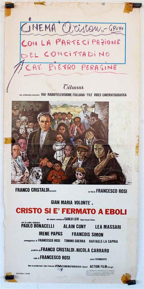 cristo si fermato quot christus kam nur bis eboli quot movie poster quot cristo si e fermato a eboli quot movie poster