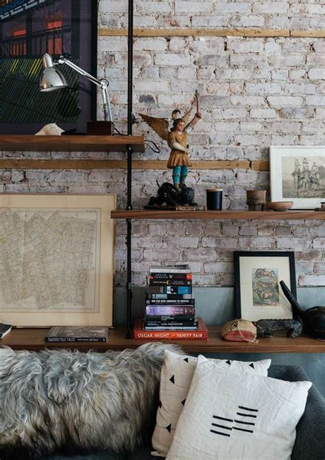 in mattoni pareti in mattoni a vista per un look industriale design