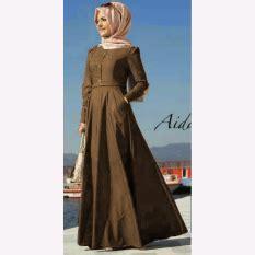 Maxi Aida Maroon jual dress gaun wanita terlengkap model baru lazada id