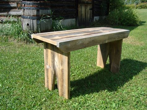 barnwood bench follow your heart woodworking barn board bench