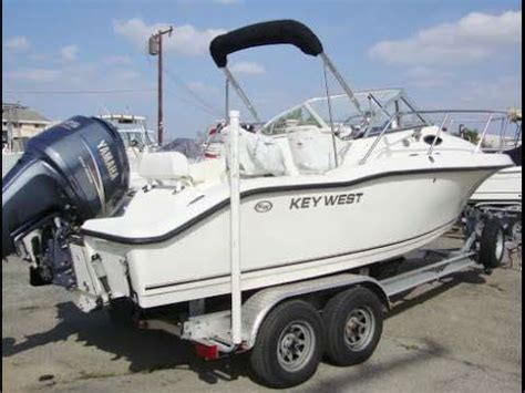 youtube key west boats keywest 21 walkaround cuddy with 225hp yamaha 4 stroke