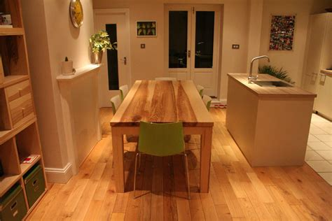 Bespoke Handmade Furniture - bespoke handmade contemporary dining table quercus furniture