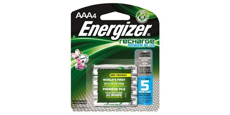 Battery Energizer Recharge Power Plus 2pcs Aaa Pack green deals four pack energizer aaa power plus rechargeable batteries 5 prime shipped more