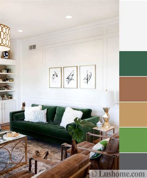 green color schemes tips    love green accents