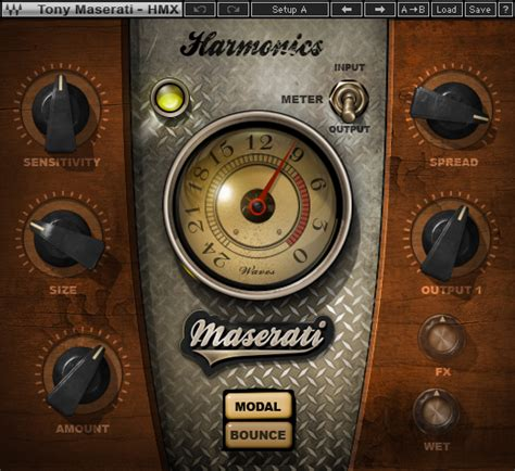 Waves Maserati by Maserati Hmx Harmonic Generator Plugin Waves