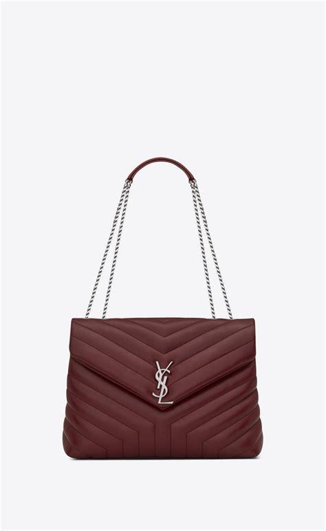 Ysl Medium Swing Bag by Laurent Medium Loulou Chain Bag In Quot Y