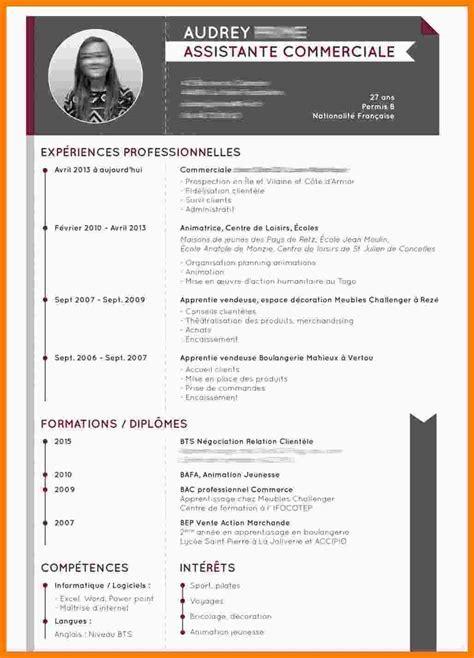 Exemple Cv Mise En Page by Mod 232 Le Mise En Page Cv Memoireveritejustice