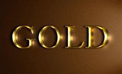 illustrator tutorial gold effect create an easy realistic gold text effect in photoshop