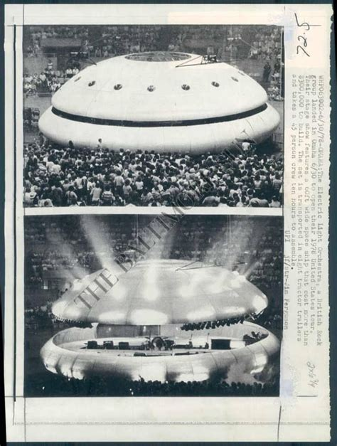 electric light orchestra tour the spaceship of electric light orchestra opening the usa