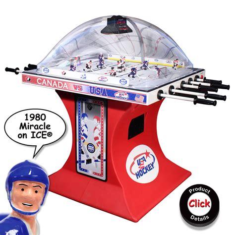 bubble hockey table for super chexx bubble dome hockey tables arcades