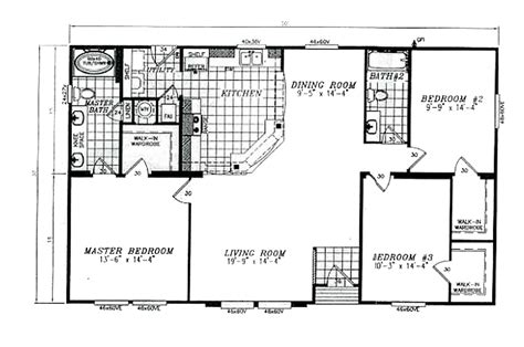 30x50 House Floor Plans 30x50 Mobile Home Plans Joy Studio Design Gallery Best