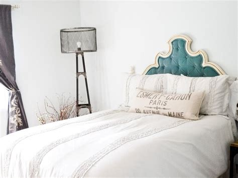 vintage diy tufted headboard loccie better homes gardens