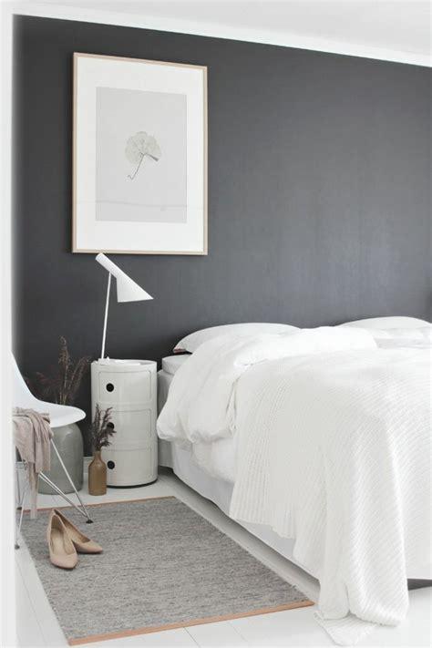 idées déco chambre à coucher chambre moderne noir et blanc