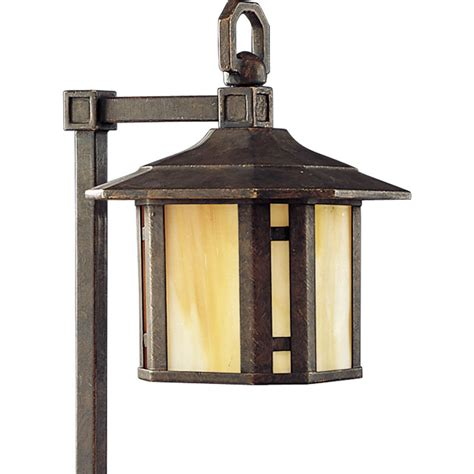 Lowes Landscape Lighting Shop Progress Lighting Arts And Crafts Weathered Bronze Low Voltage 18 Watt 18w Equivalent
