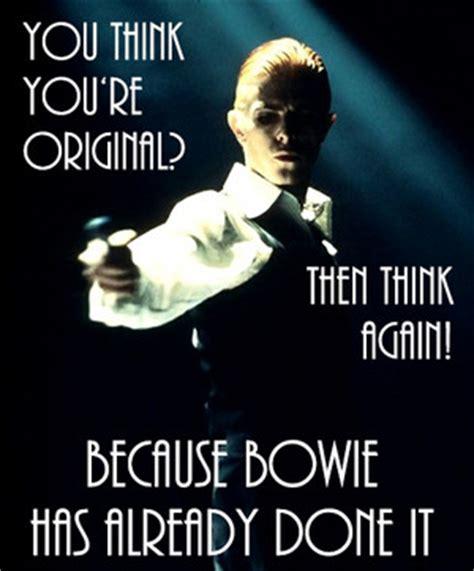 Bowie Meme - david bowie meme