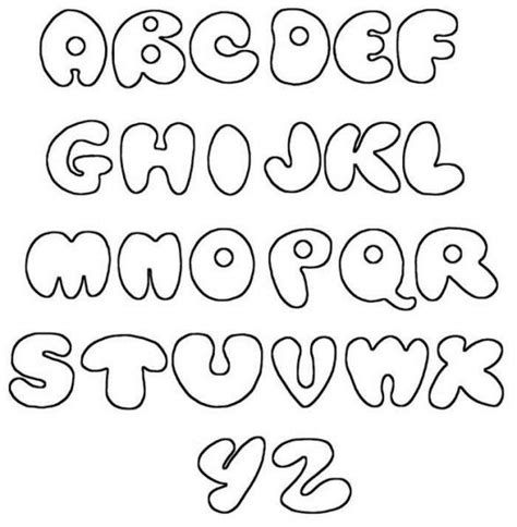 printable font maker alphabet printable stencils letters fonts alphabet