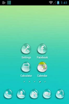 themes for android water water drops android theme for go launcher androidlooks com