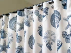 Sea Shell Curtains Shower Curtains Seashells Interior Decorating