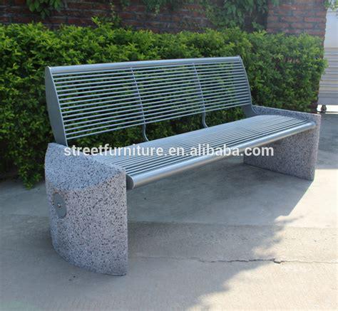 panchina cemento metallo panchina di cemento panca da giardino panchina in