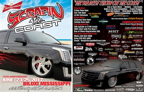 monster truck show biloxi ms scrapin the coast wildest car truck and bike show on