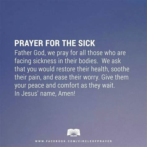 comfort words for sick person best 25 prayer for the sick ideas on pinterest healing