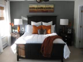 gray and orange bedroom an american housewife gray