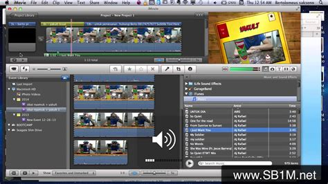tutorial penggunaan software zahir imovie tutorial penggunaan software video imovie mac