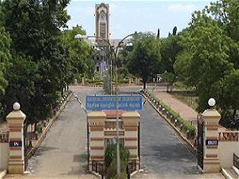 Mba Courses In Trichy by National Institute Of Technology Tiruchirapalli