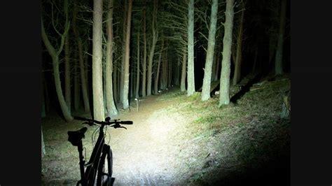 mountain bike night riding lights night mountain biking at caddon bank innerleithen with