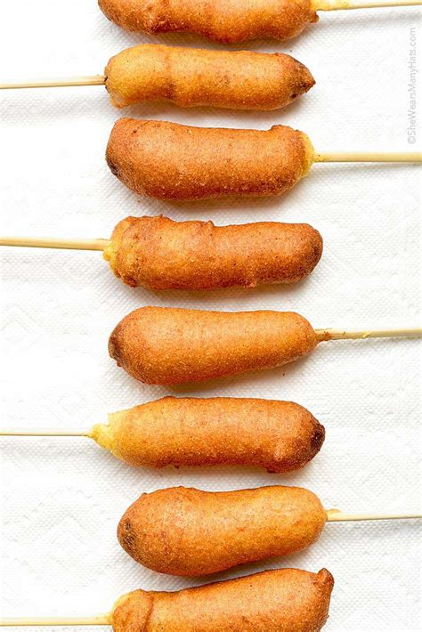 corn dogs recipe corn recipe she wears many hats