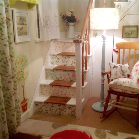 laura ashley glass ls my stairs wallpapered in laura ashley prints abbeville
