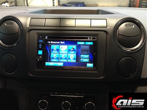 Amarok Dash Mat by Vw Amarok Alpine Touch Screen And From Automotive