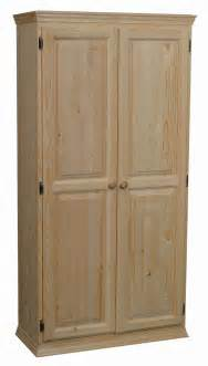 Unfinished Kitchen Pantry Cabinet by Solid Pine Pantry Arch581 Westchester Woods